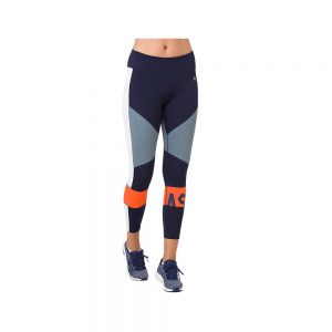 ASICS Women's Colour Block Running Tights 2 in Peacoat