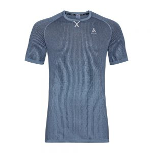 Odlo BL Top Crew Neck S/S Ceramicool Blackcomb Pro - Mens